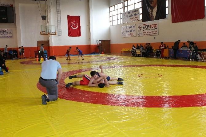 Okullar Arası Güreş Müsabakaları Niğde'de Yapıldı