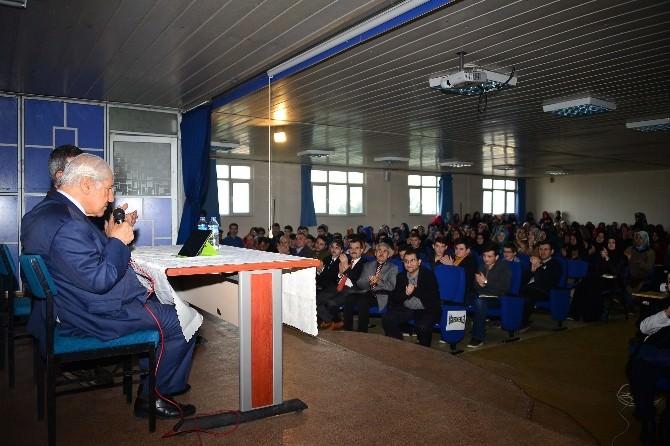 Usta Yazar Nuri Pakdil, Yıldırımlı Öğrencilerle Buluştu