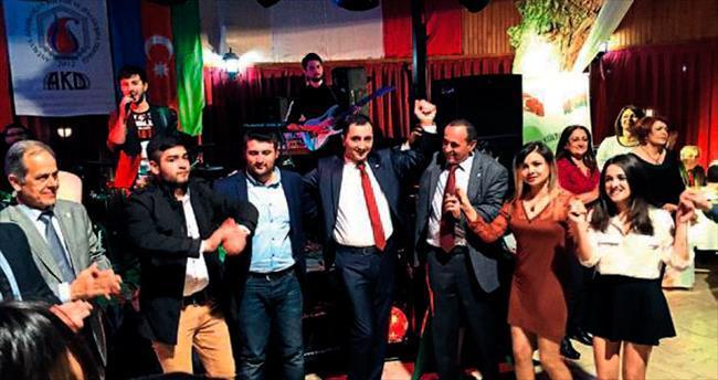 Antalya Azerileri Nevruz'u kutladı