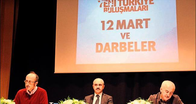 Antalya'da darbeler konuşuldu