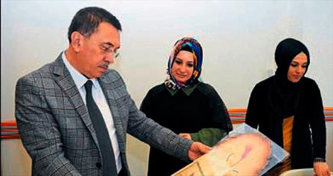 Çetin'den Hanım Evi'ne ziyaret