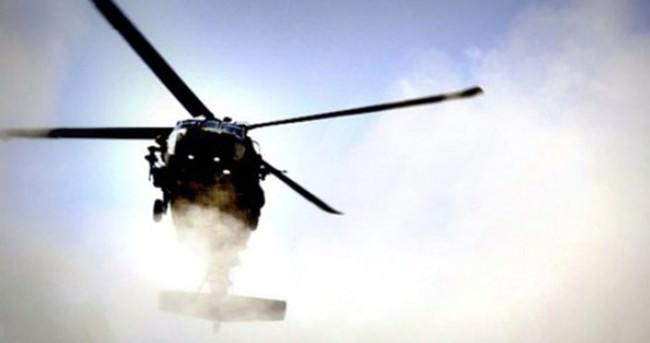 Suriye'de rejim güçlerinin helikopteri düştü