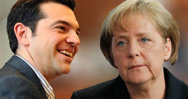 Çipras ve Merkel biraraya geliyor