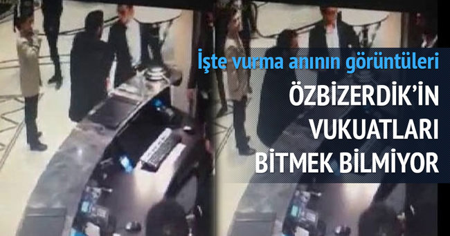 Onur Özbizerdik'in 17 yaşındaki genci vurduğu an kameralara böyle yansıdı