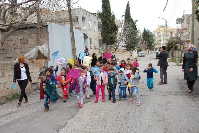 Dünya Su Günü'nde Anaokulu Öğrencilerinden Örnek Davranış
