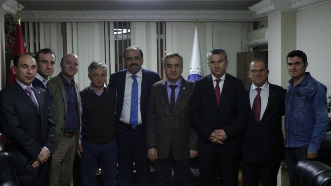 Balta, Sivil Toplum Örgütlerine Ziyaretlerini Sürdürüyor