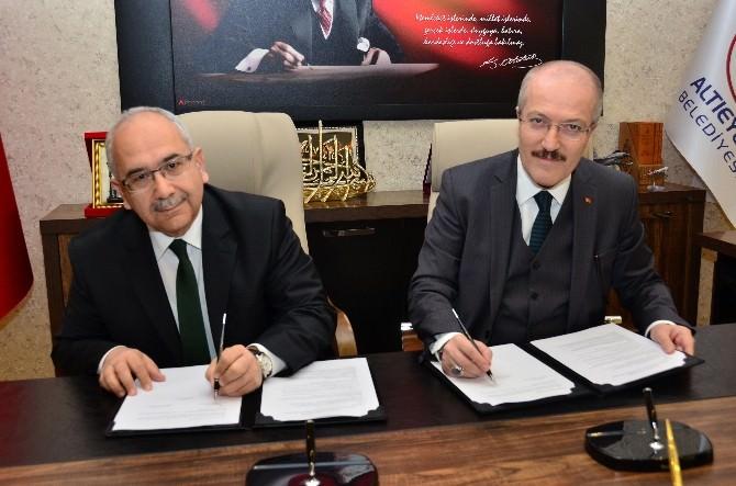Altıeylül Belediyesi, Milli Eğitim Müdürlüğü İle Birlikte '6 Eylül 6 Proje' Protokolünü İmzaladı