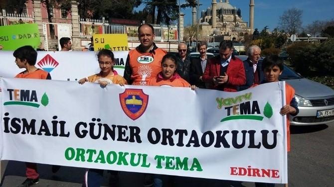 TEMA Vakfı Edirne'de Ormanlara Ve Suya Dikkat Çekti