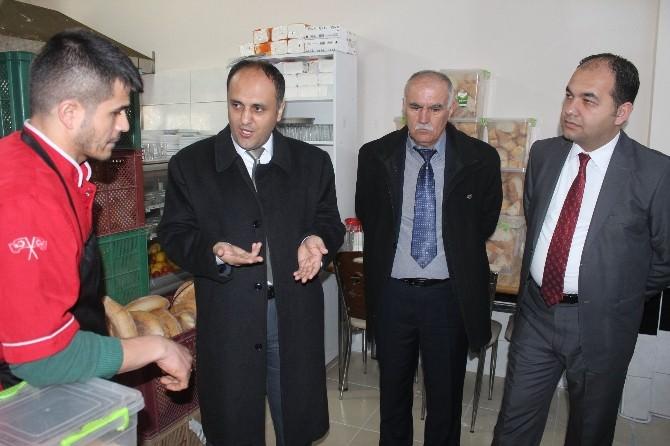 Başkan Özaltun'un Esnaf Ziyaretleri Sürüyor