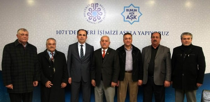 Başkan Altay, Muhtarlarla Buluştu