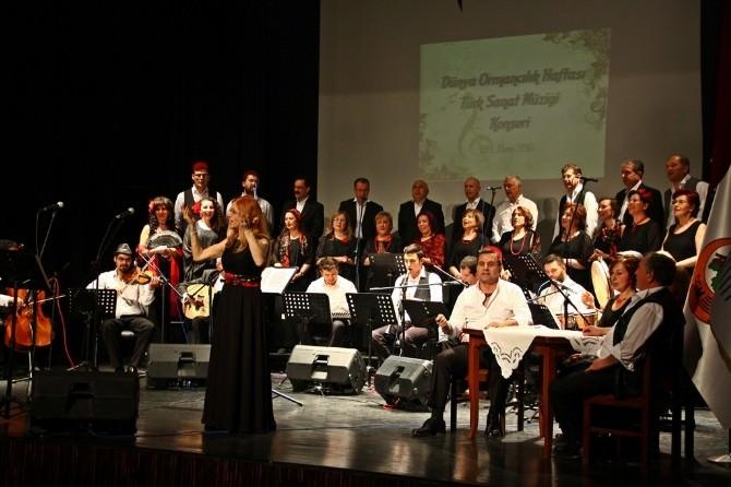 Orman Haftası'nda Türk Sanat Müziği Konseri