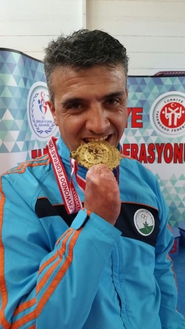 Bayram Kayan 5. Defa Türkiye Şampiyonu
