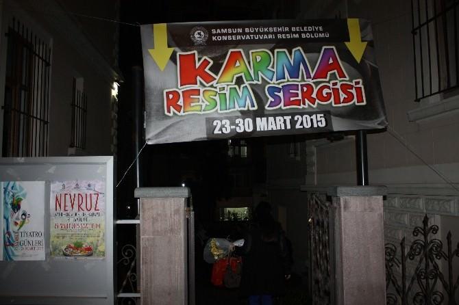 'Karma Resim Sergisi' Açıldı