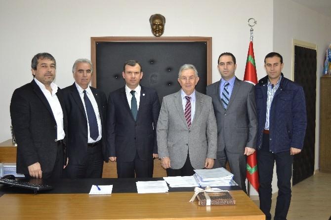 Çerkezköy Ticaret Odası'ndan Yeni Gümrük Müdürü'ne Ziyaret