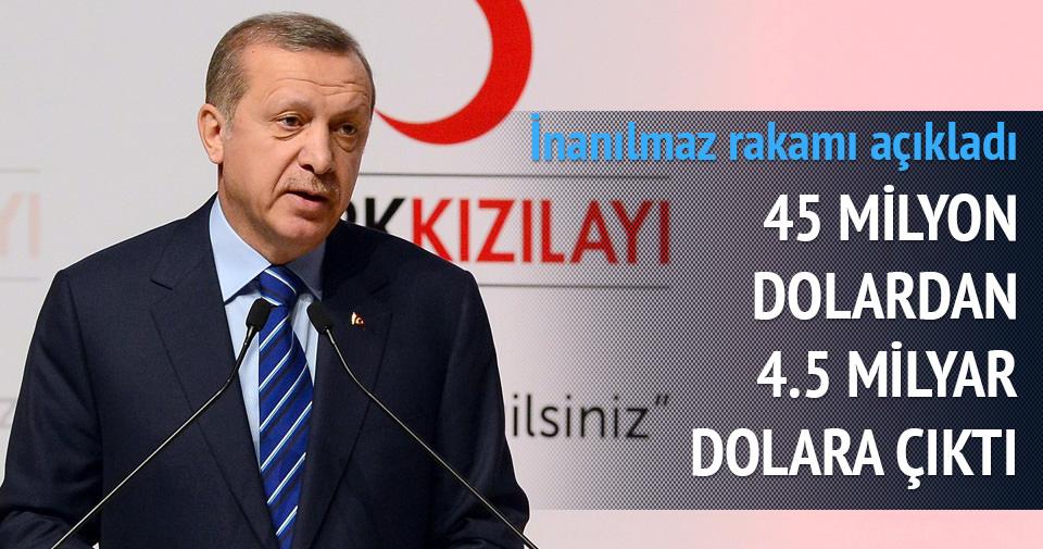 Erdoğan inanılmaz rakamı açıkladı