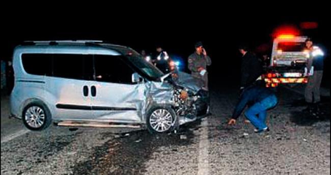 Bayındır'da kaza: 1 ölü, 6 kişi yaralı