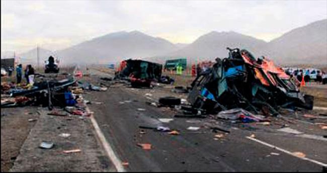 Peru'da katliam gibi kaza: 36 ölü