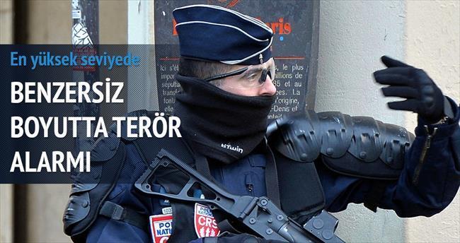 Fransa'da 'benzersiz boyutta terör' alarmı