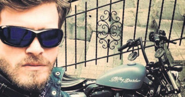 Kıvanç Tatlıtuğ'un motosiklet tutkusu