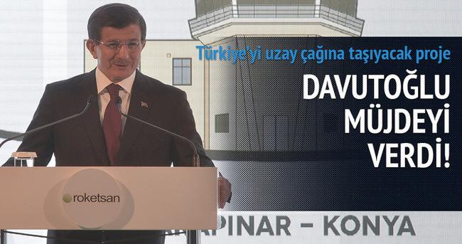 Başbakan Davutoğlu Konya'da müjdeyi verdi