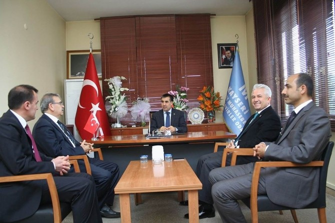 Özsoy'dan Ksmmmo'ya Ziyaret