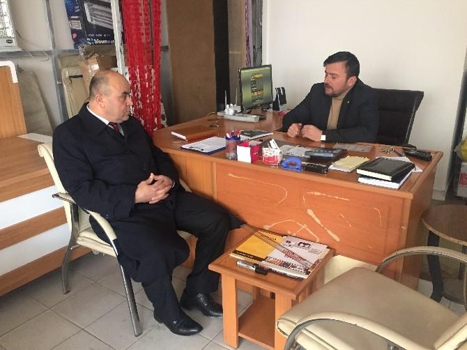 AK Parti Yozgat Milletvekili Aday Adayı Çelik'ten Teşekkür Ziyaretleri