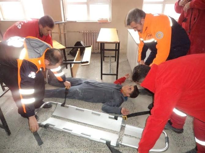 Elazığ'da Deprem Tatbikatı