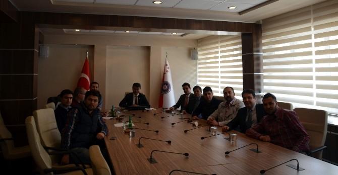 Eskişehir İl Emniyet Müdürlüğü İle Eskişehirspor Taraftar Grupları Bir Araya Geldi