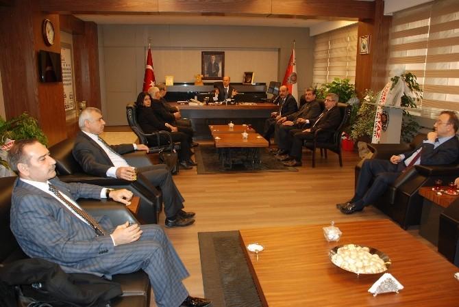 Gaziantep Kent Konseyi'nden Vali Yerlikaya'ya Ziyaret