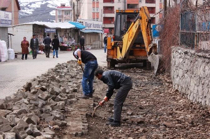 Belediyeden Atık Su Kanalı Çalışması