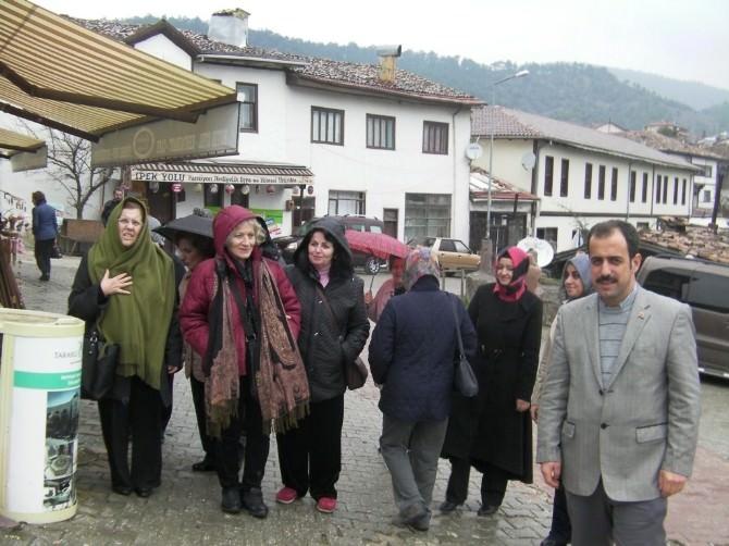 İçişleri Bakanlığı Mensuplarının Eşleri Taraklıyı Gezdi