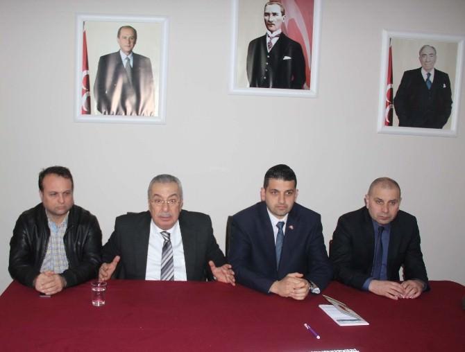 """Çakan,"""" Zonguldak'ta Emeğimiz Ve Çivimiz Vardır"""""""