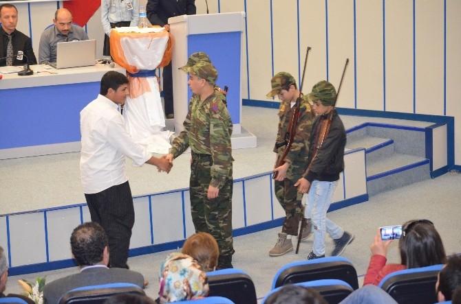 Mtosb Meslek Lisesi Öğrencileri Çanakkale Ruhunu Canlandırdı