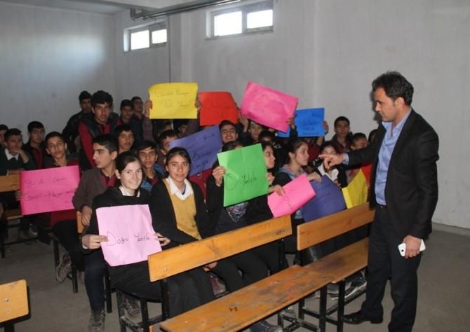 Silopi Mesleki Ve Teknik Anadolu Lisesi'nde Bilgi Yarışması