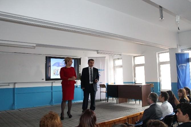 SGK'dan Okullara Bilgilendirme Toplantısı