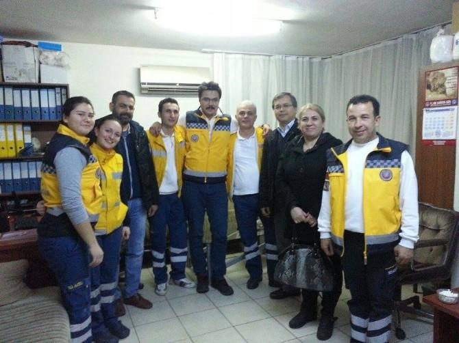 Aydın Türkav, Acil Tıp Teknisyenlerinin(att) Gününü Kutladı