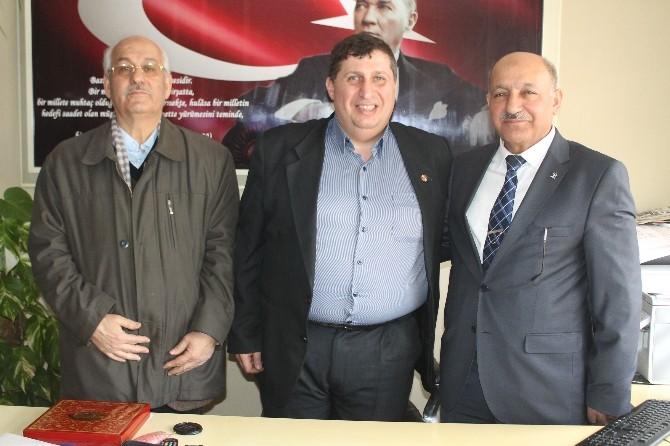 İbrahim Cansız'dan Kozlu Gazeteciler Cemiyeti'ne Ziyaret