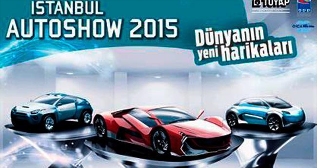 İstanbul Autoshow'a 600 bin ziyaretçi bekleniyor