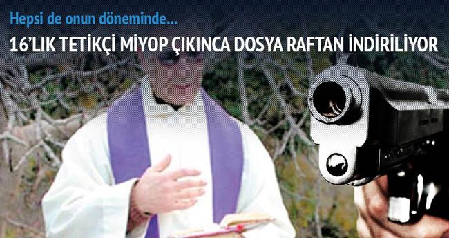 Rahip Santoro'ya karanlık kurşun