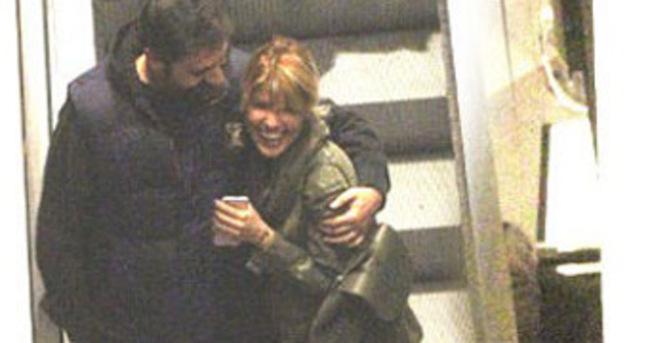 Gülben Ergen ile eşi Erhan Çelik çok mutlu