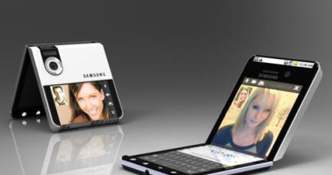 Samsung'dan tamamen katlanabilir telefon geliyor