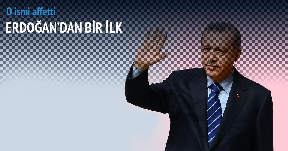 Cumhurbaşkanı Erdoğan'dan hükümlü affı