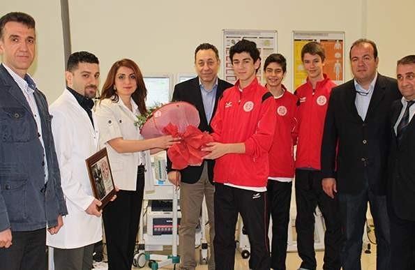 Spor Hekimliği Sporcu Sağlık Merkezi'ne Ziyaret