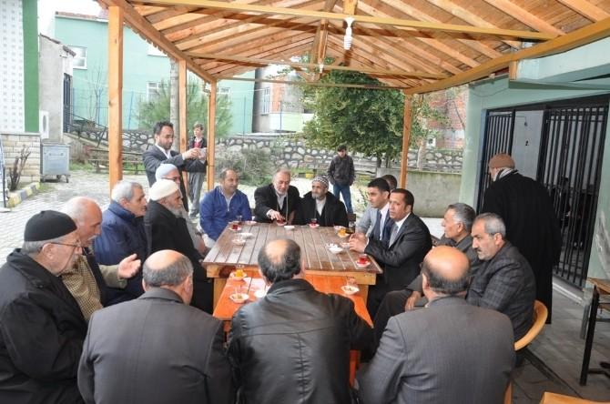 Başkanlar Cami Cemaati İle Sohbet Etti