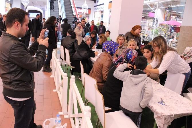 Forum Gaziantep'te Kadınlar Mis Kokulu Taşlar Yaptı