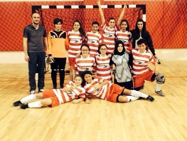 Genç Kızlar Futsal Müsabakaları Sona Erdi