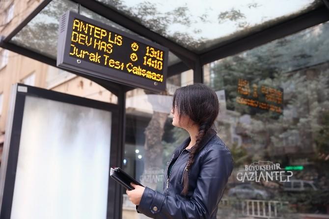 """Gaziantep'te """"Otobüsüm Nerede"""" Uygulaması Başladı"""