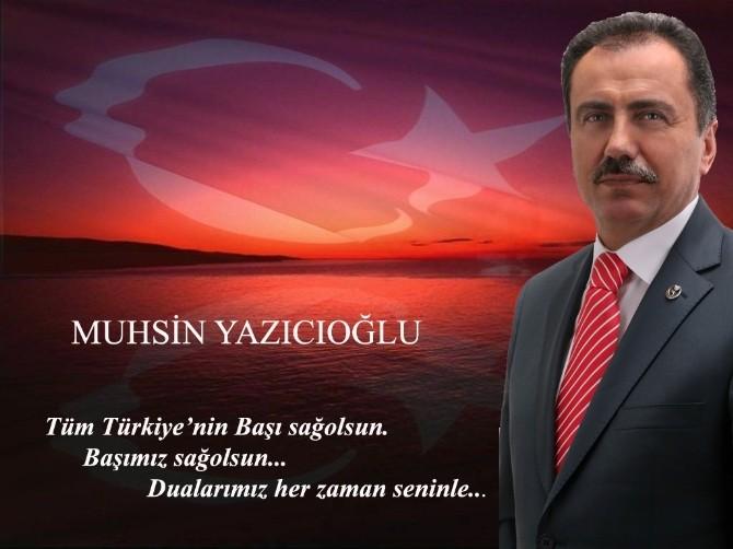 """Haluk Alıcık, """"Yazıcıoğlu'nu Saygıyla Anıyoruz"""""""