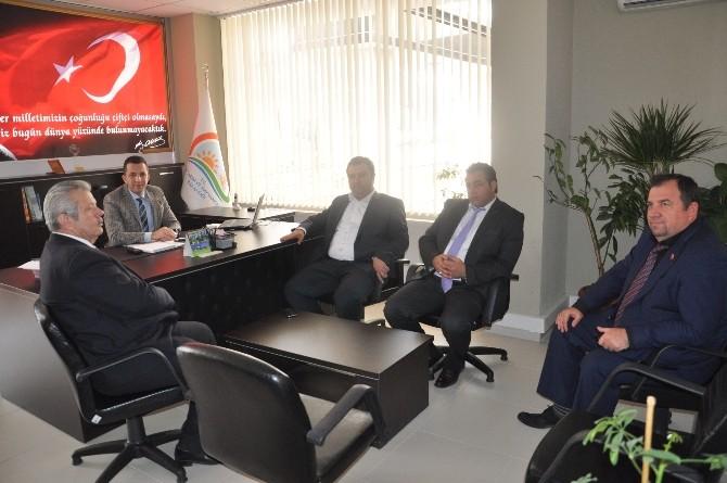 Malkara Belediye Başkanı Yurdakul'dan Gıda, Tarım Ve Hayvancılık İlçe Müdürü Erbaş'a Ziyaret