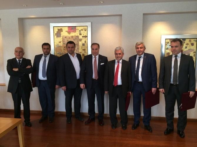 Malkara OSB Yönetim Kurulu Gebze'de Ziyaretlerde Bulundu